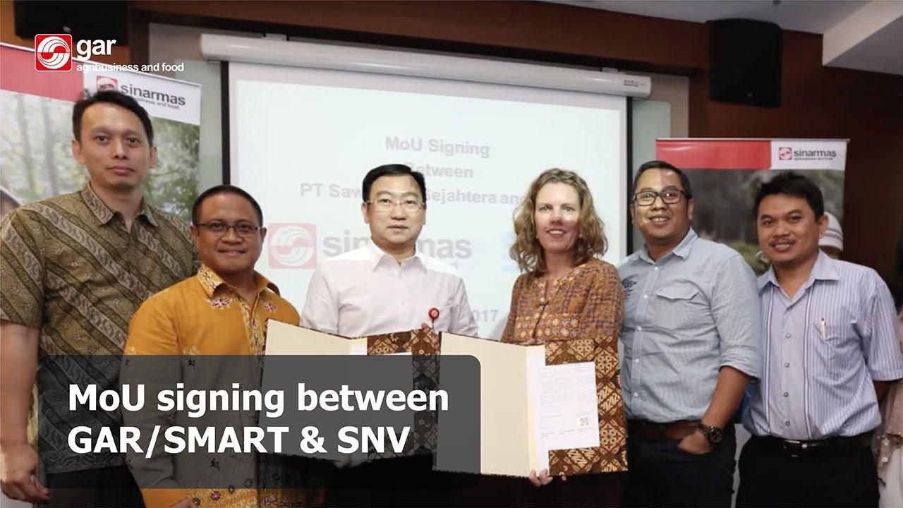 Partnering SNV to help smallholders